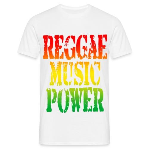 REGGAE MUSIC T-Shirt - Mannen T-shirt