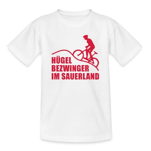Hügelbezwinger - Teenager T-Shirt