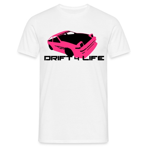 Drift 4 Life - Men's T-Shirt