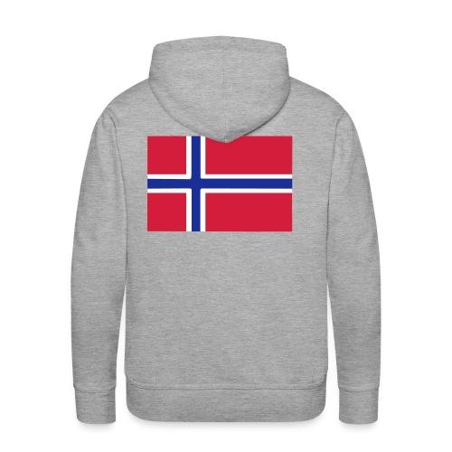 I love Norway - Men's Premium Hoodie