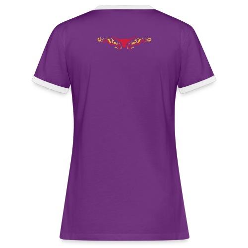 Western BM Tribal Shirt Girly - Frauen Kontrast-T-Shirt