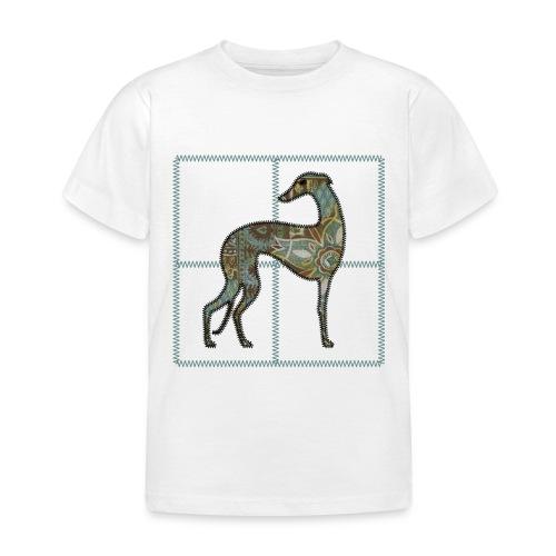 Lévrier stylisé. Zig Zag - T-shirt Enfant