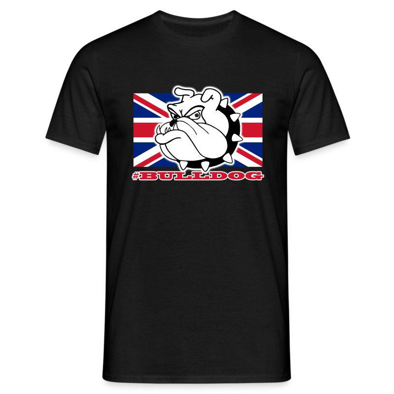 #Bulldog T-Shirt - Men's T-Shirt