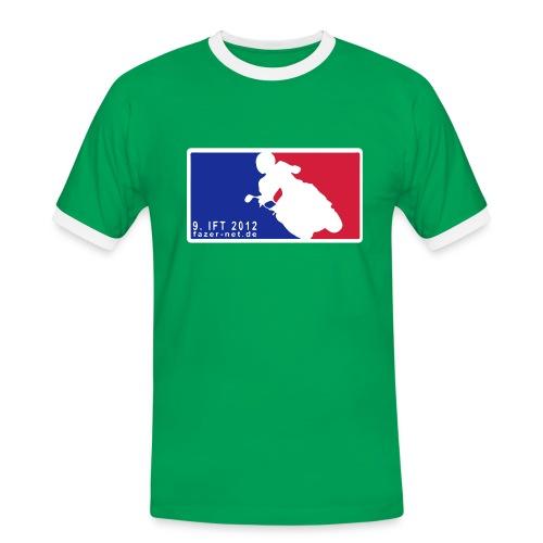 9. IFT - MLB-Style, Bi-Color - Männer Kontrast-T-Shirt