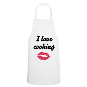 Kiss - I love... Apron - Cooking Apron