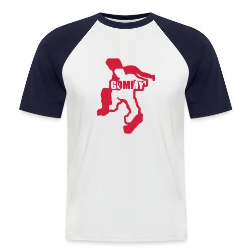 Shortsleeve Red and White - Men's Baseball T-Shirt
