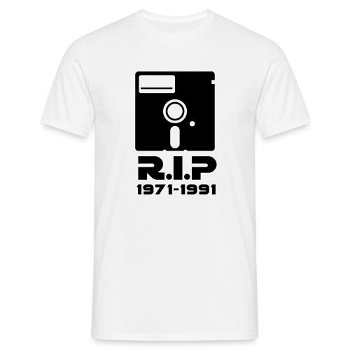 Shirt Diskette - Männer T-Shirt