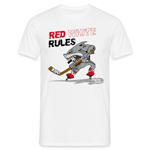 Red White Rules - Männer T-Shirt