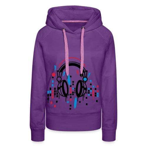 Muziek Hoodie - Vrouwen Premium hoodie