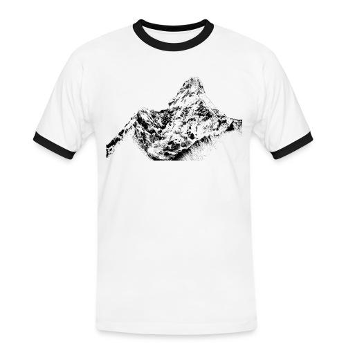 Ama Dablam T-Shirt Herren - Männer Kontrast-T-Shirt