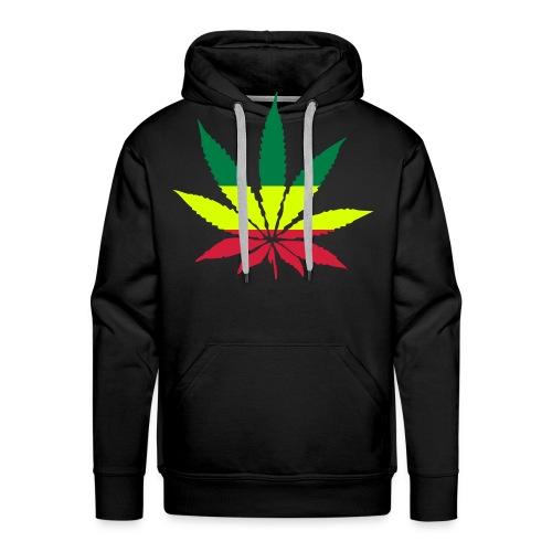 Chance of Cannabis - Herre Premium hættetrøje