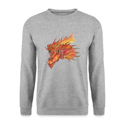 Freuerdrache - Männer Pullover