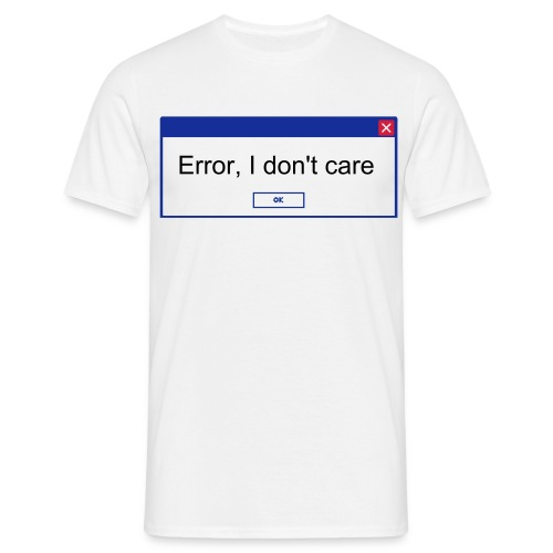 WINDOWS ERROR - Men's T-Shirt