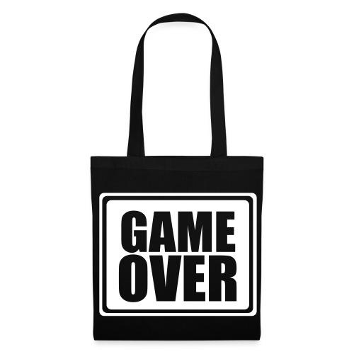 Borsa GAME OVER,Firmata gaudio(nuova firma) - Borsa di stoffa