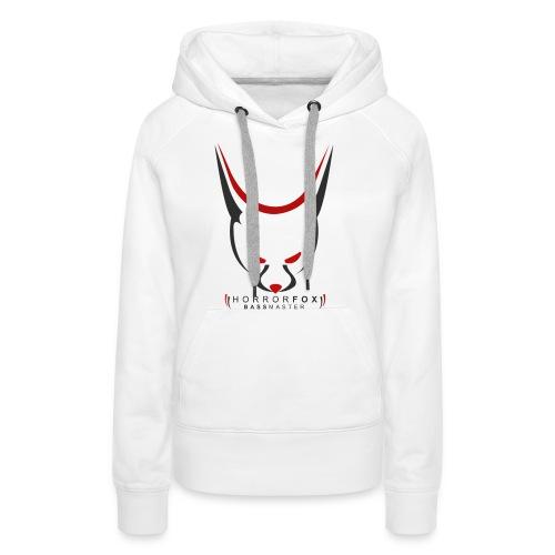 HorrorFox Women's Hoodie [White] - Women's Premium Hoodie