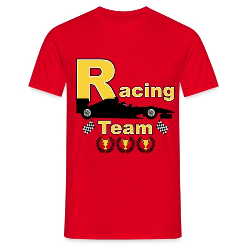 racing team 01 t-shirt - Men's T-Shirt
