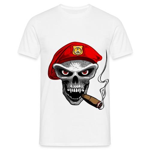 Army skull - T-skjorte for menn