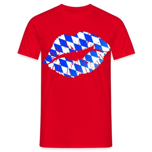 München Kiss Herren T-Shirt - Männer T-Shirt