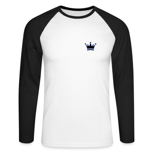 I'm the king - T-shirt baseball manches longues Homme
