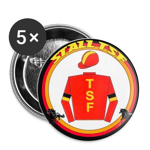 TSF Buttons - Buttons klein 25 mm (5er Pack)