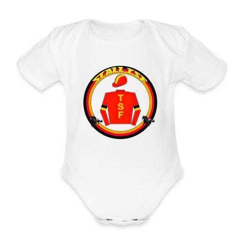 Strampler mit TSF-Logo - Baby Bio-Kurzarm-Body