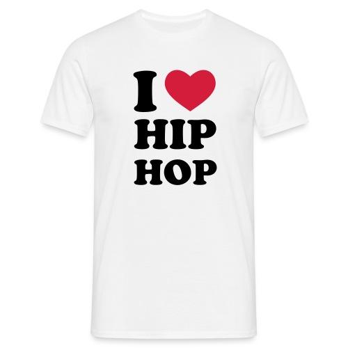 I <3 Hip Hop Mens T - Men's T-Shirt