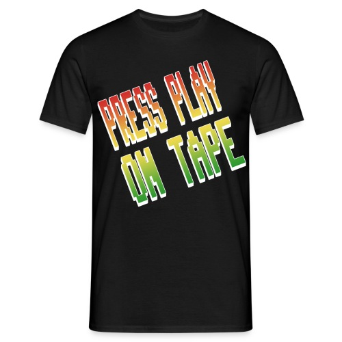 Press play on Tape (1) - Männer T-Shirt