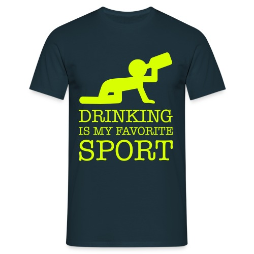 T-shirt Drinking is my favorite sport! - Mannen T-shirt