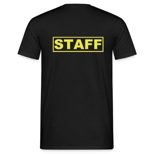 Staff (Negra - Hombre) - Camiseta hombre