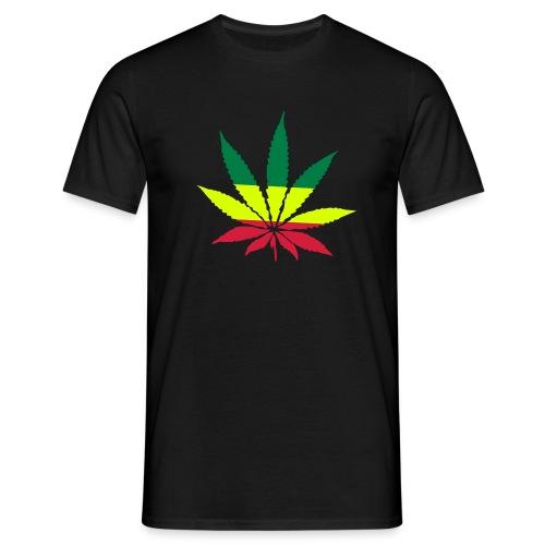 Cannabis rastafari (Negra - Hombre) - Camiseta hombre