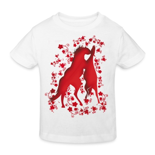 Kinder Bio-T-Shirt - Pferdelandia Kids T-Shirt :)