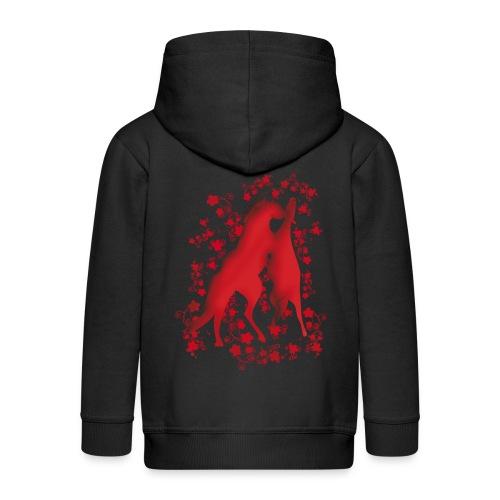 Kinder Premium Kapuzenjacke - Pferdelandia Kids T-Shirt :)