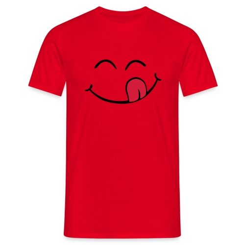Smiley uhmmm - Camiseta hombre