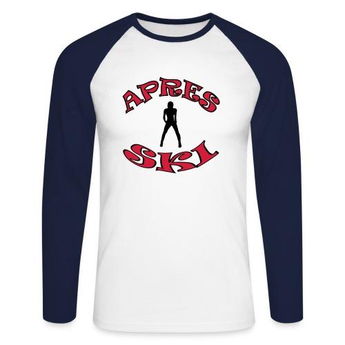 Apres-Ski T-Shirt JSC - Männer Baseballshirt langarm