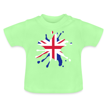 England patch Baby Shirts