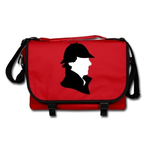 Sherlock Holmes - Funny Hat  - Umhängetasche