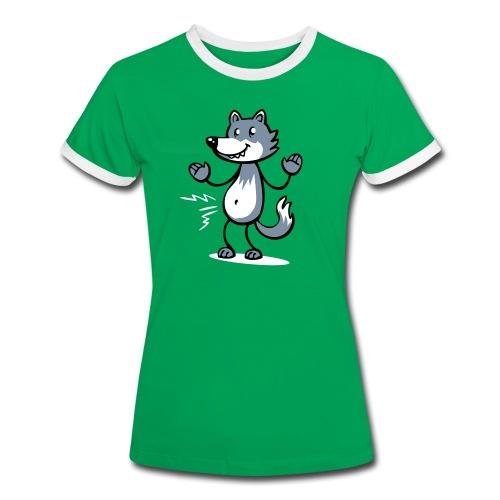 hungryWolf girl - Women's Ringer T-Shirt