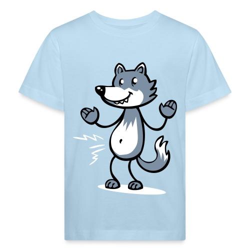 hungryWolf kids - Kids' Organic T-Shirt