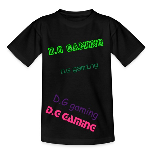 childrens D.G gaming shirt - Kids' T-Shirt