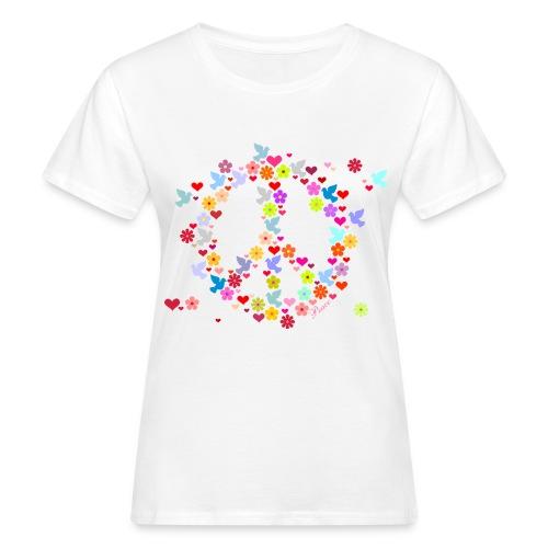 flower  - T-shirt bio Femme