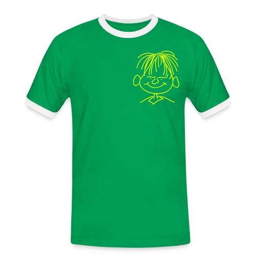 Männer T-Shirt Motiv vorne - Männer Kontrast-T-Shirt