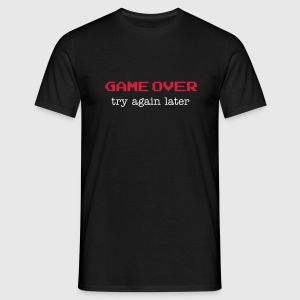 Game over T-Shirts - Camiseta hombre