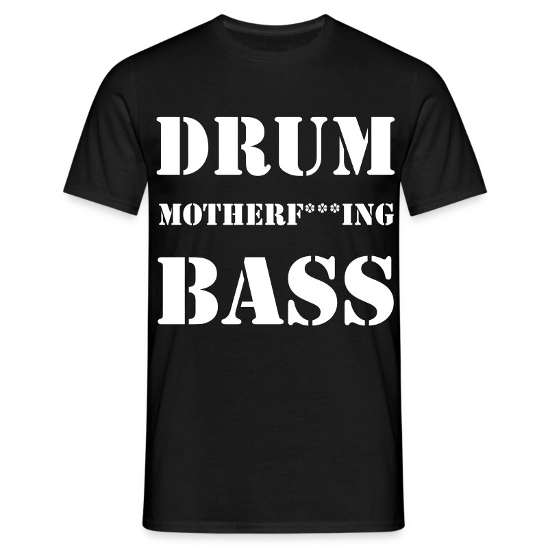 Drum´n´Bass T-Shirt - Männer T-Shirt
