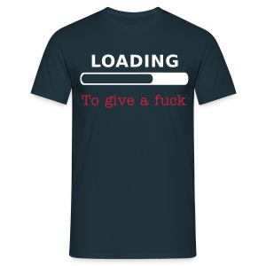Loading to Give a fuck - Navy - Men's T-Shirt
