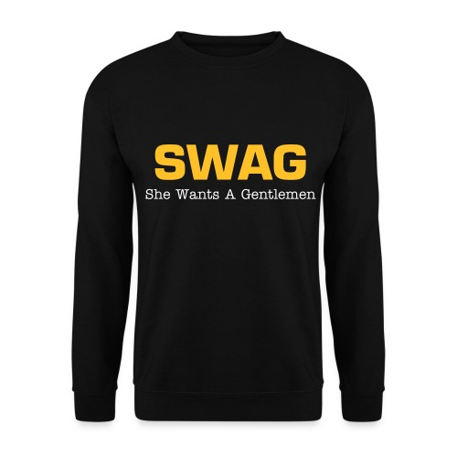 SWAG she wants a gentlemen - Herre sweater