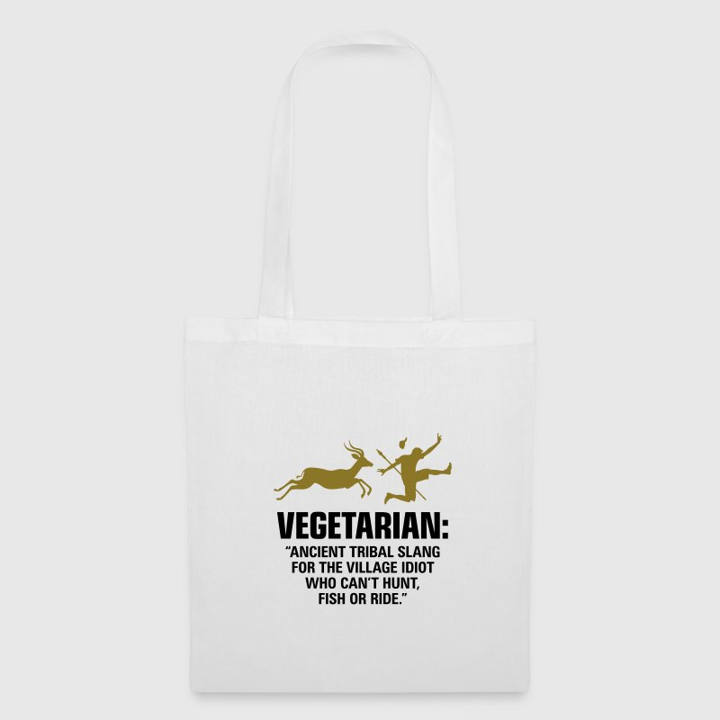 Vegetarian 2 (2c)++ Sacs - Tote Bag