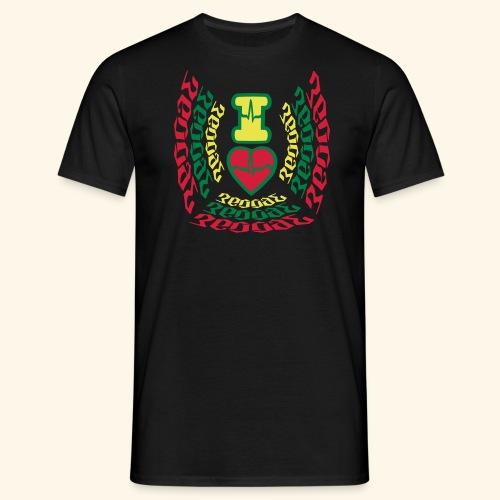 I Love Reggae Vibes - T-shirt Homme