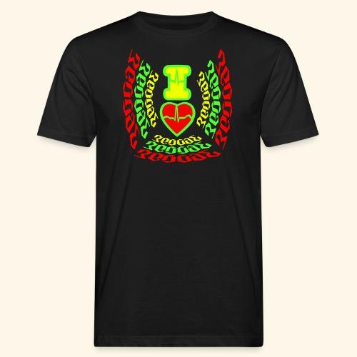 I Love Reggae - T-shirt bio Homme