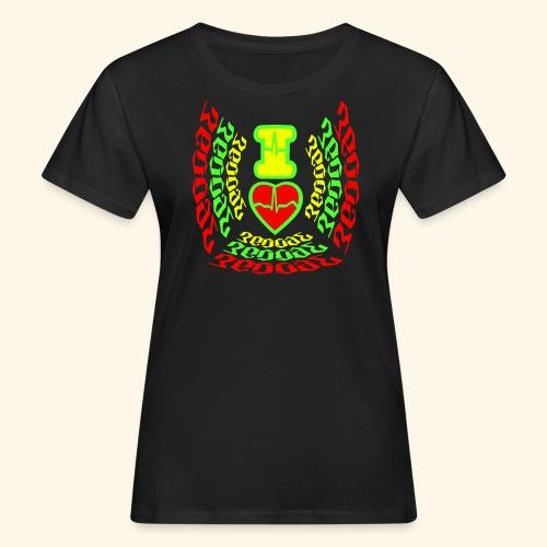 I Love Reggae  - T-shirt bio Femme