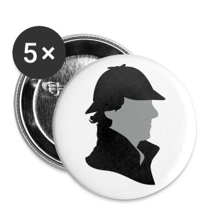 Button - Sherlock Holmes - Buttons klein 25 mm